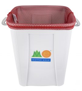 Breathable Diaper Pail Mesh Bag - Red