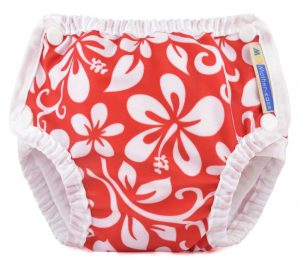 Mother-ease-Swim-Diaper-Aloha-Red